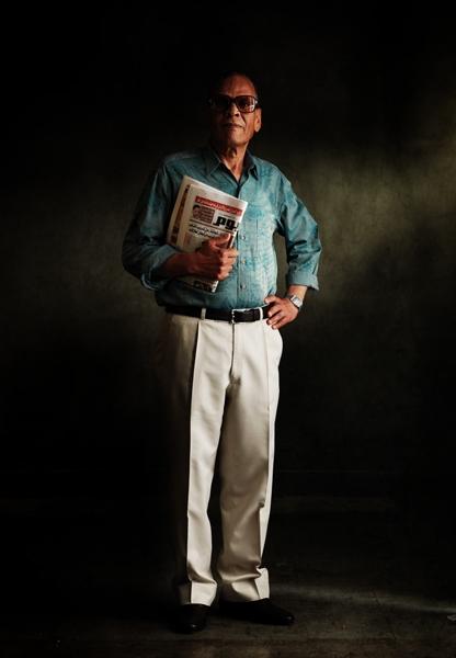 Retrato de Miguel Ángel Sánchez