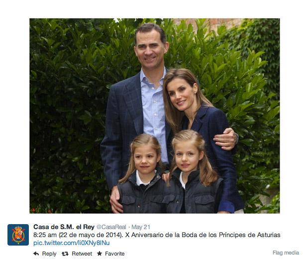 Aniversario príncipes de Asturias
