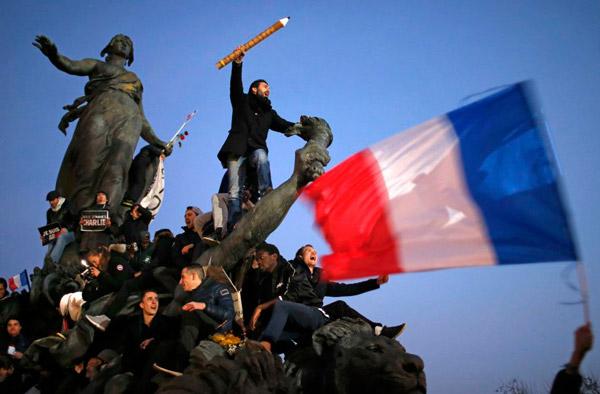 Place République, Stephane Mohe