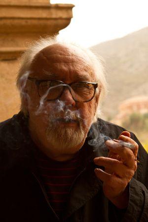 Sanz Lobato, retratado en octubre de 2012 en Albarracín. (foto: Moeh Atitar)